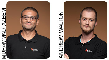 Muhammad Azeem and Andrew Walton - Wildfire Solutions